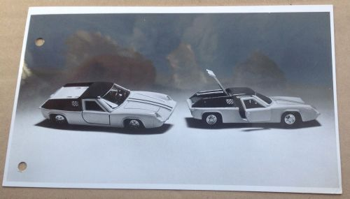 Dinky Toys Liverpool original Press Photograph and 1 page letter 18/12/1969 introducing Dinky 218 Lotus Europa